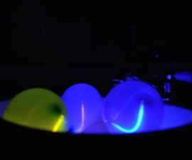 Glow-in-the-dark Pool Lanterns