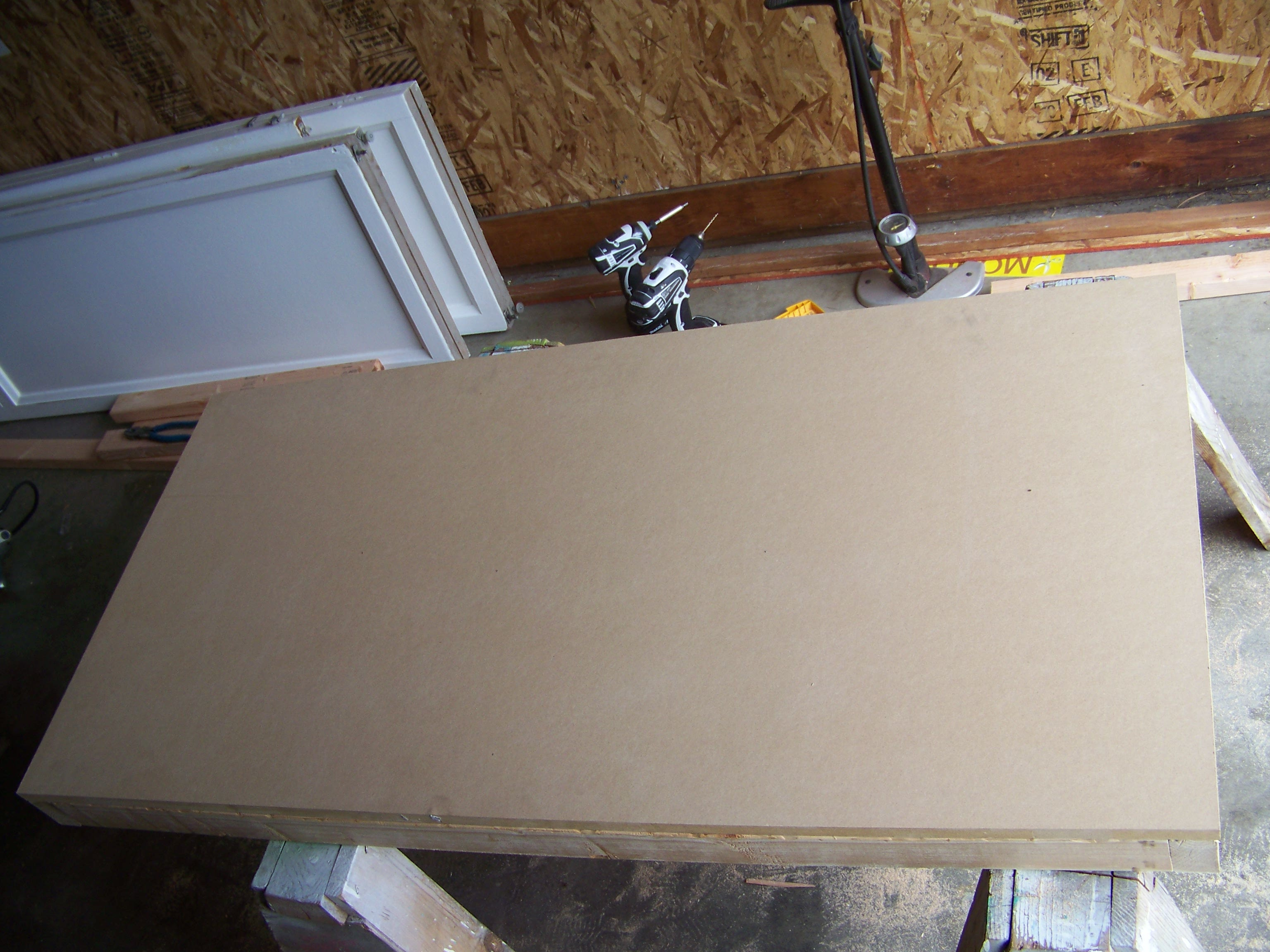 Picture of Attaching MDF to Top Support