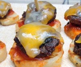 Burger Bites with Real Potato Slice Buns