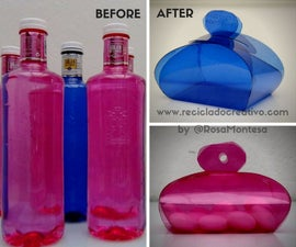 Gift Boxes Made Out of Recycled Plastic Bottles