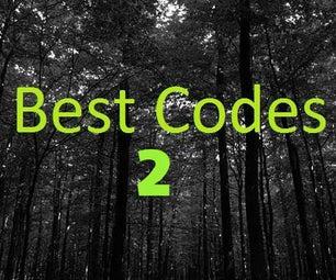 Best Codes 2