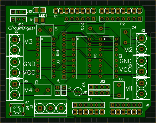 Picture of Circuit and PCB Design Using EasyEDA