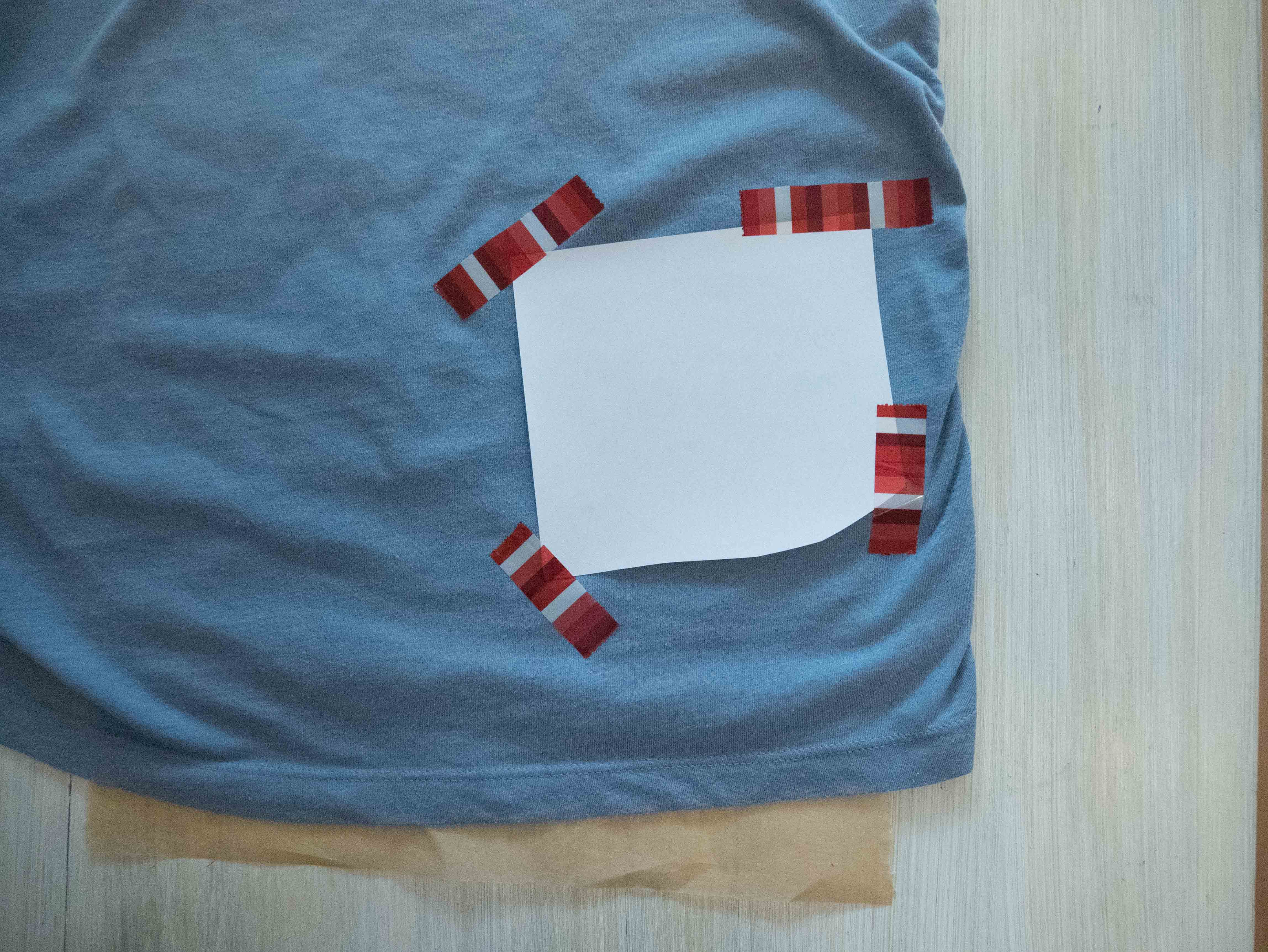 Picture of Transferring the Print on Your Shirt