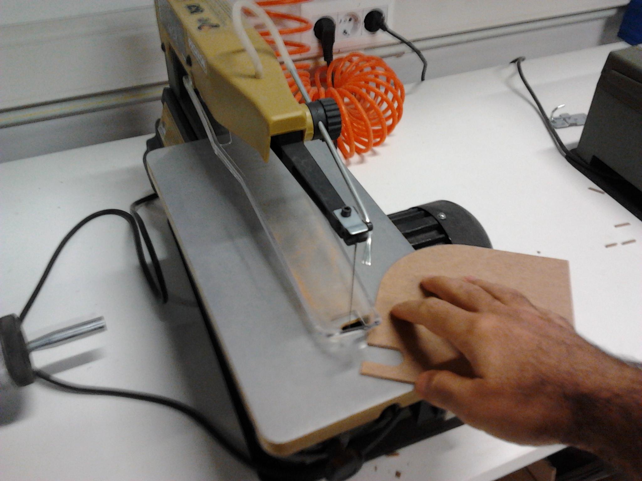 Picture of Preparing Parts