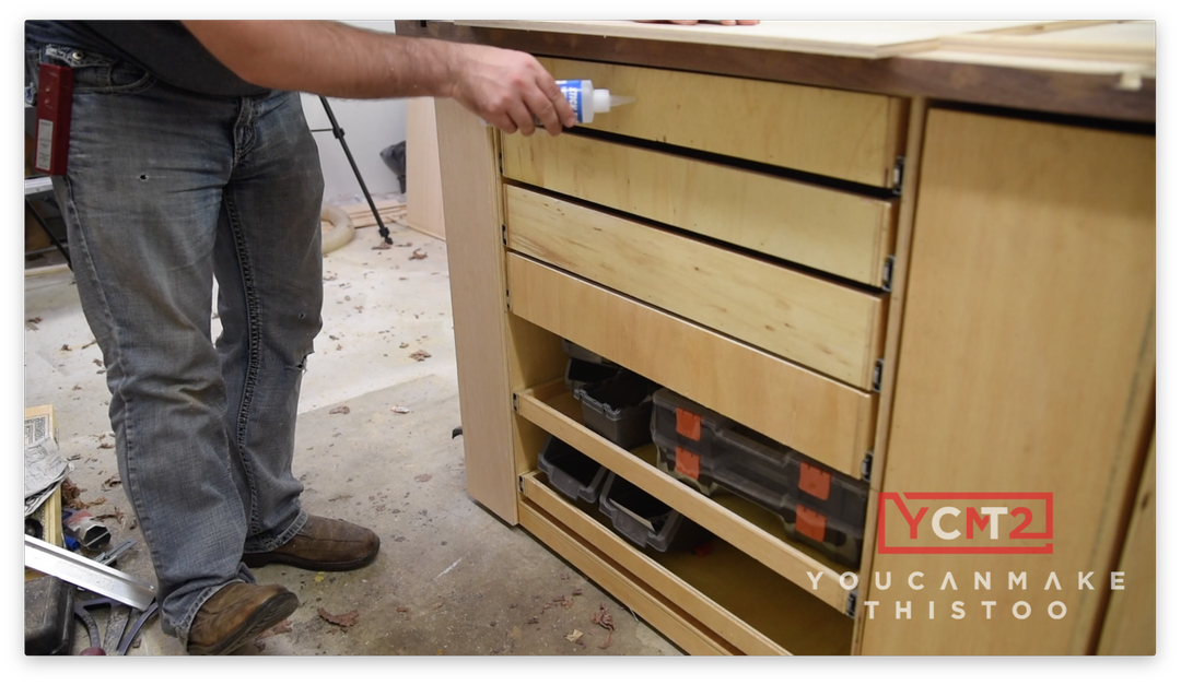 Picture of Install Drawer Fronts
