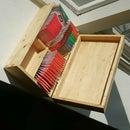 Box Joint Tea Box