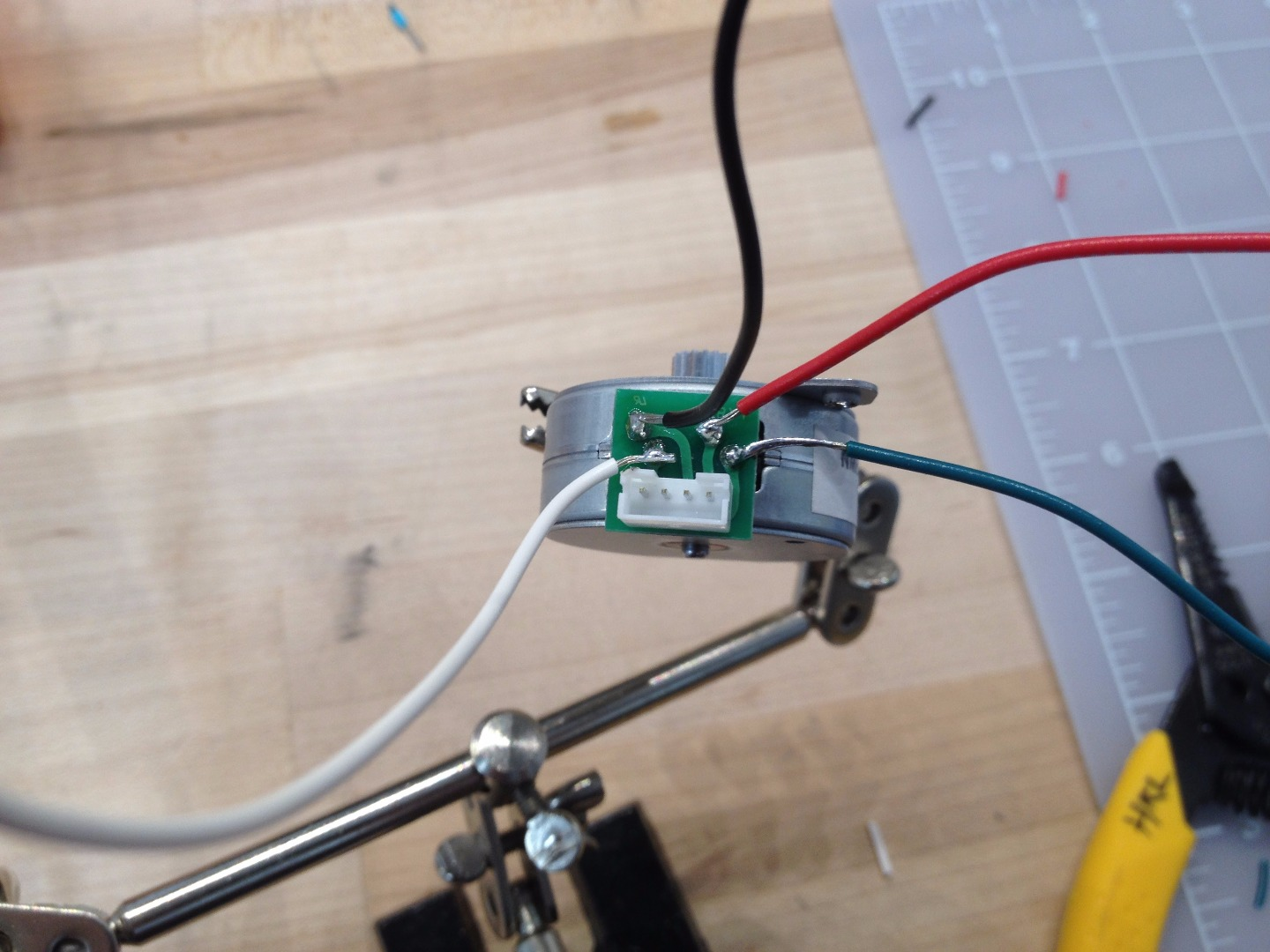 Picture of Attach the Wires