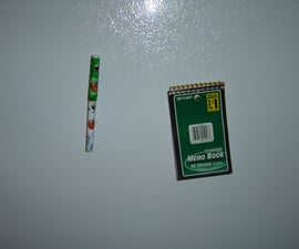 Magnetic Notebook and Pen (Fridge Magnets)