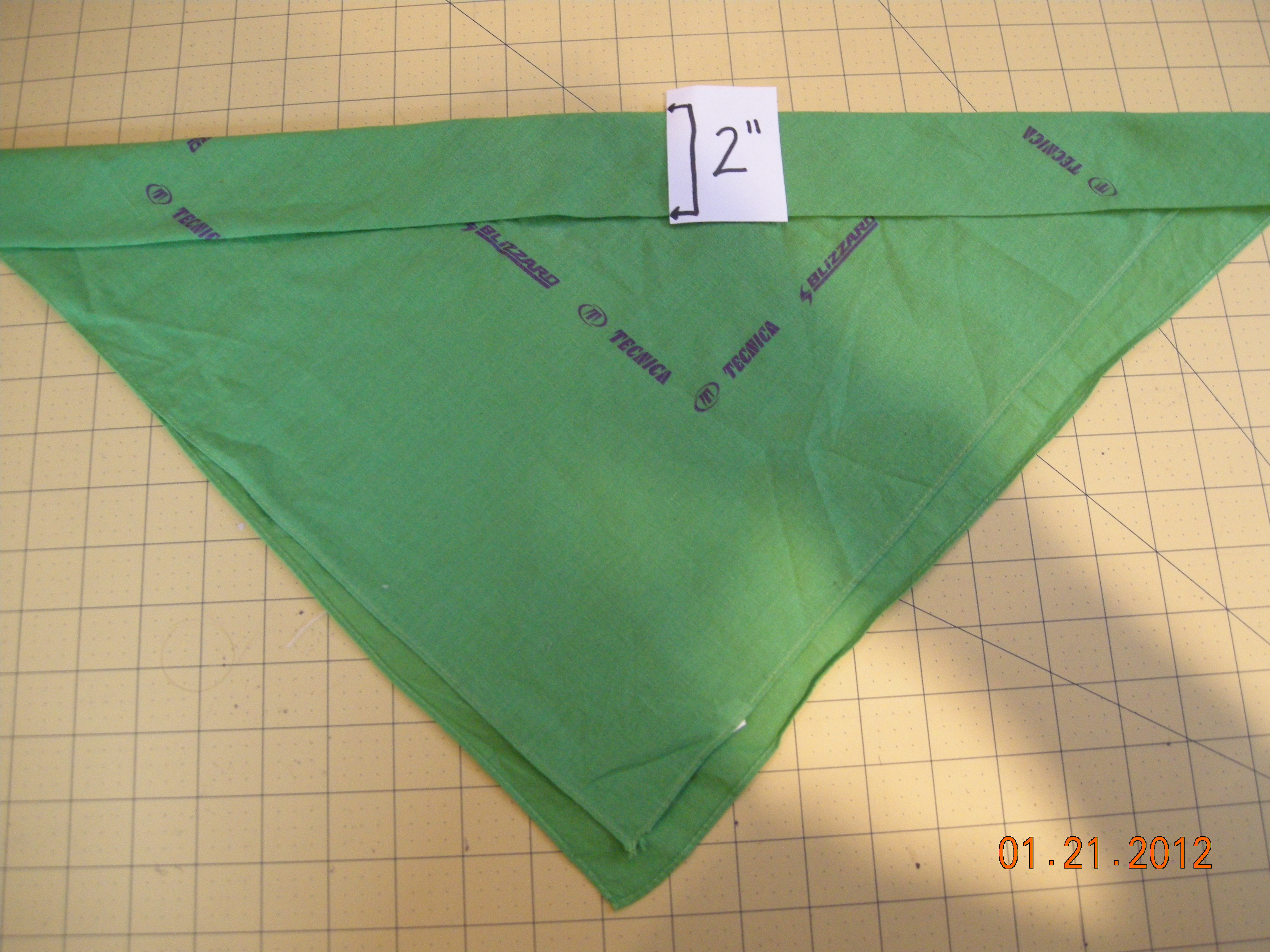 Picture of Step 3:  Folding the Top Band