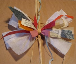 Collage Paper Bow