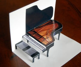 Make a grand piano in minutes