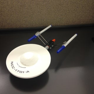 Build the Starship Enterprise From Useless Office Supplies