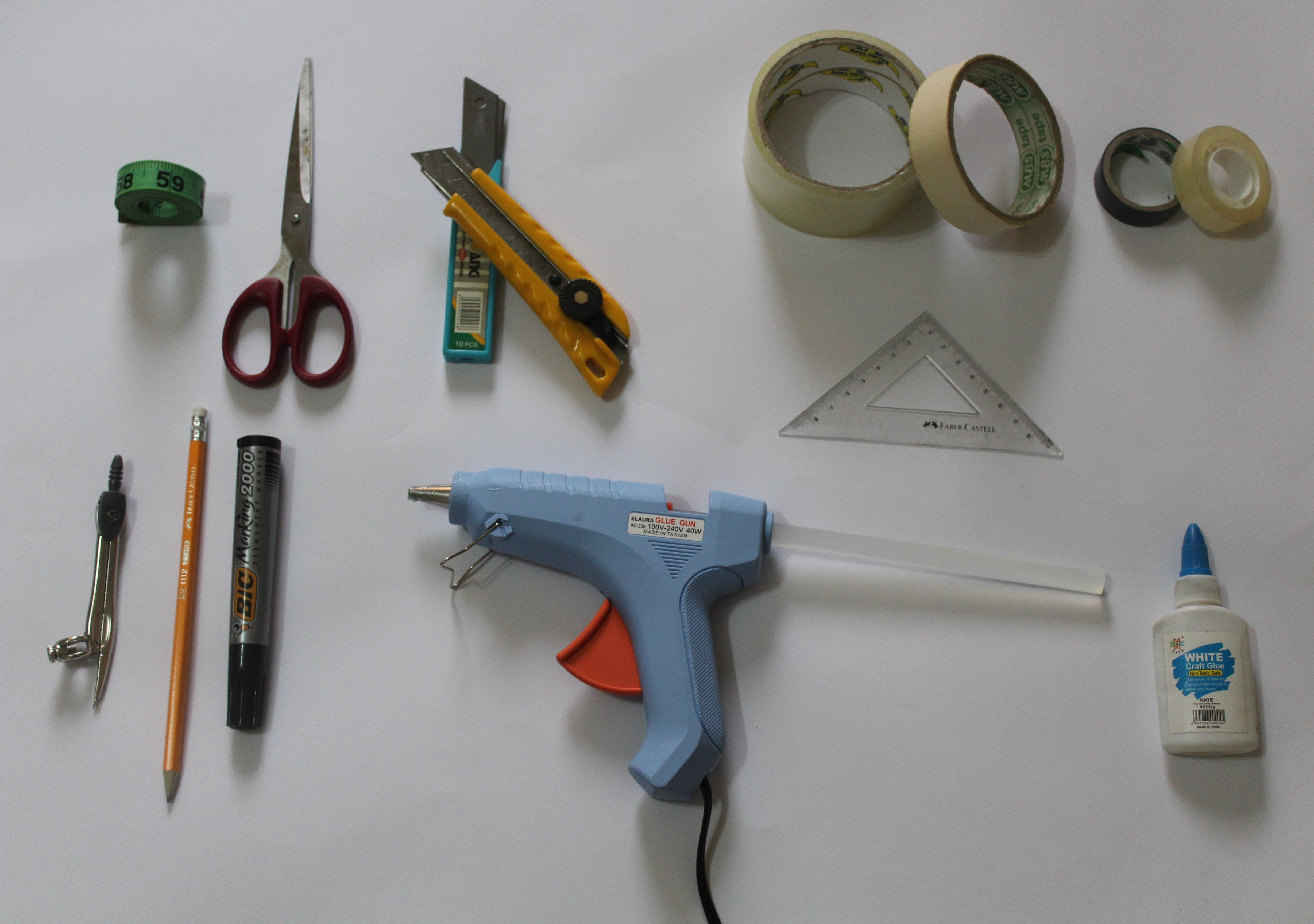 Picture of Materials and Tools Needed