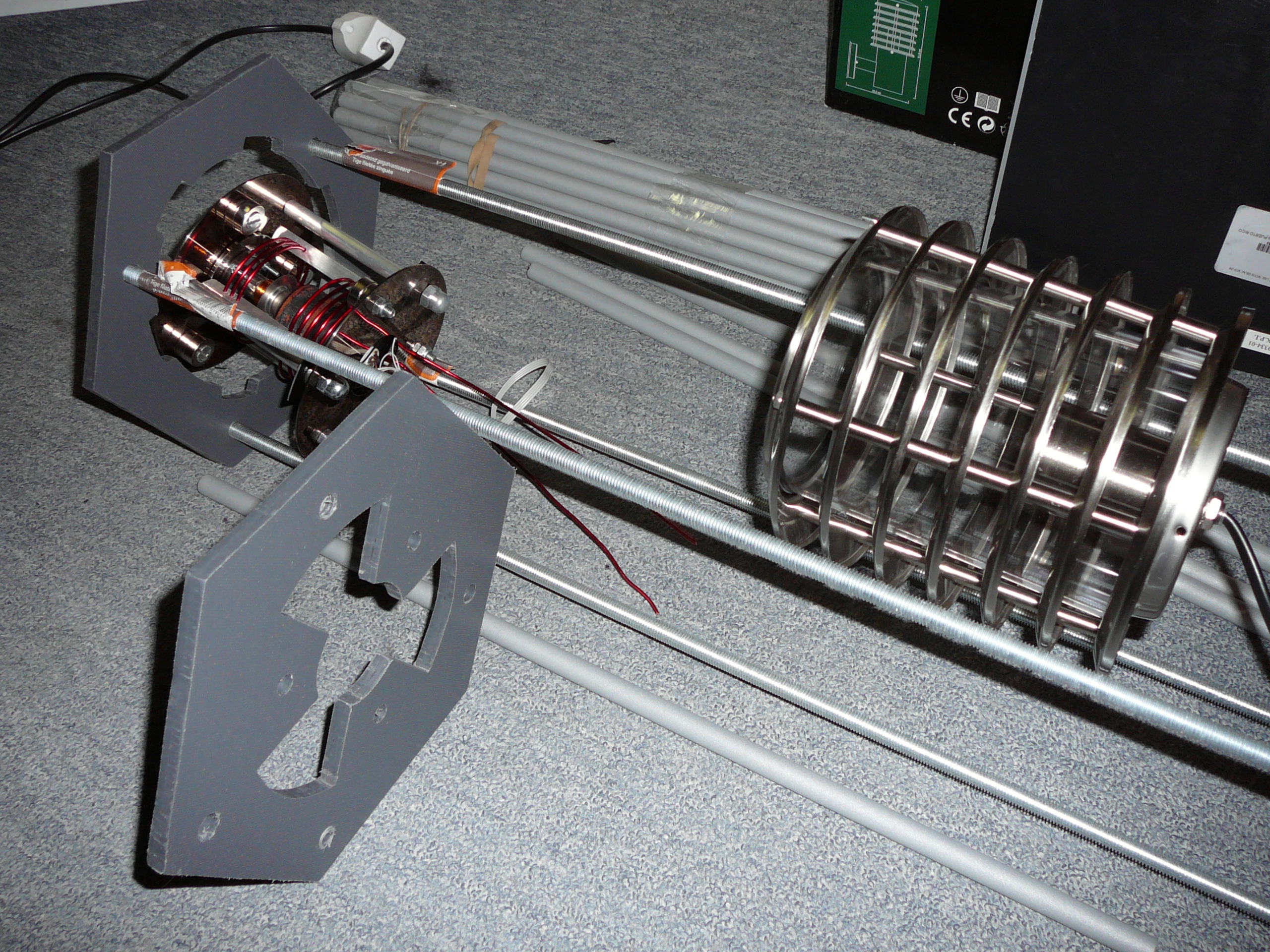 Picture of Test Fitting Construction