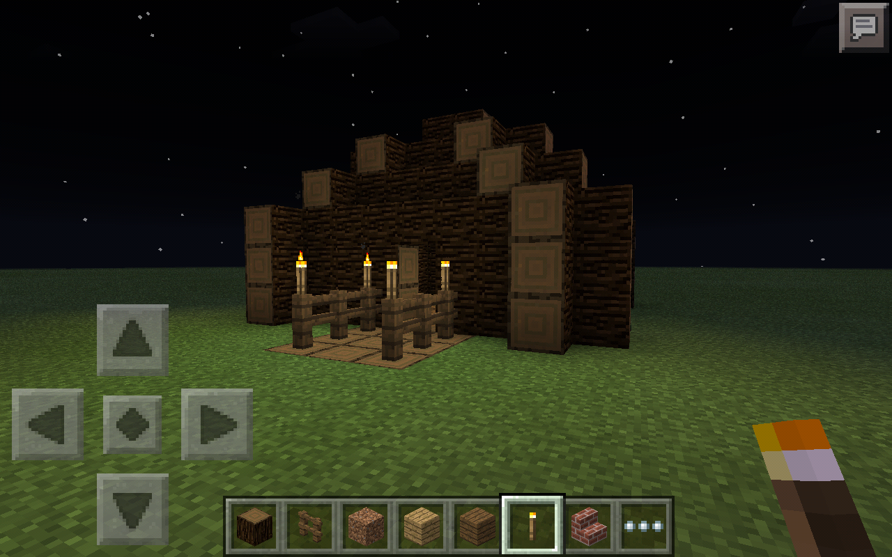 Picture of How to Make a Minecraft Log Cabin