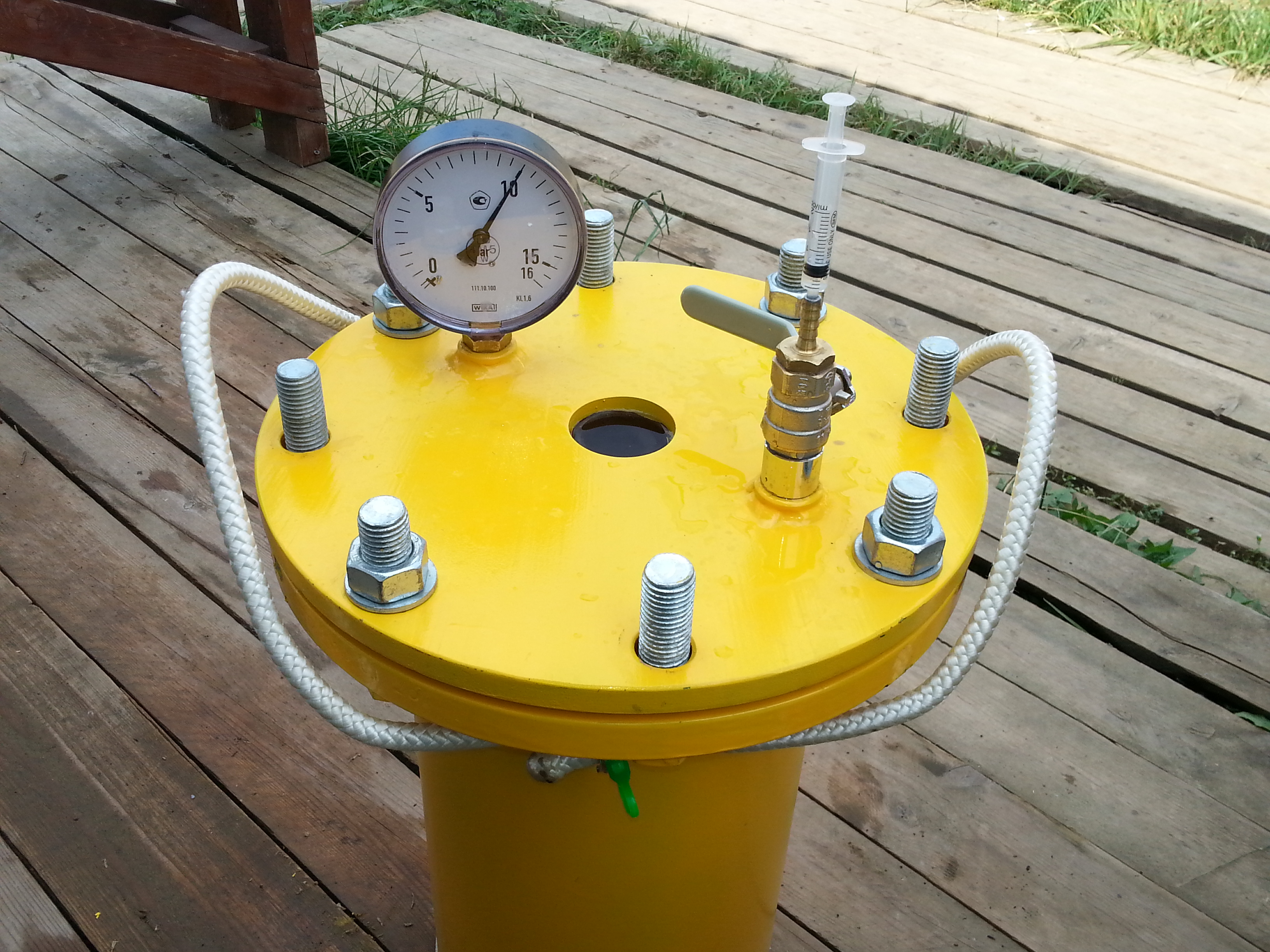 Picture of Water Pressure