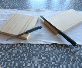 Cutting Board with knife holder