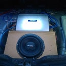 Custom Invisible subwoofer enclosure for your spare wheel recess