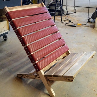 Flat-Pack Wooden Chairs