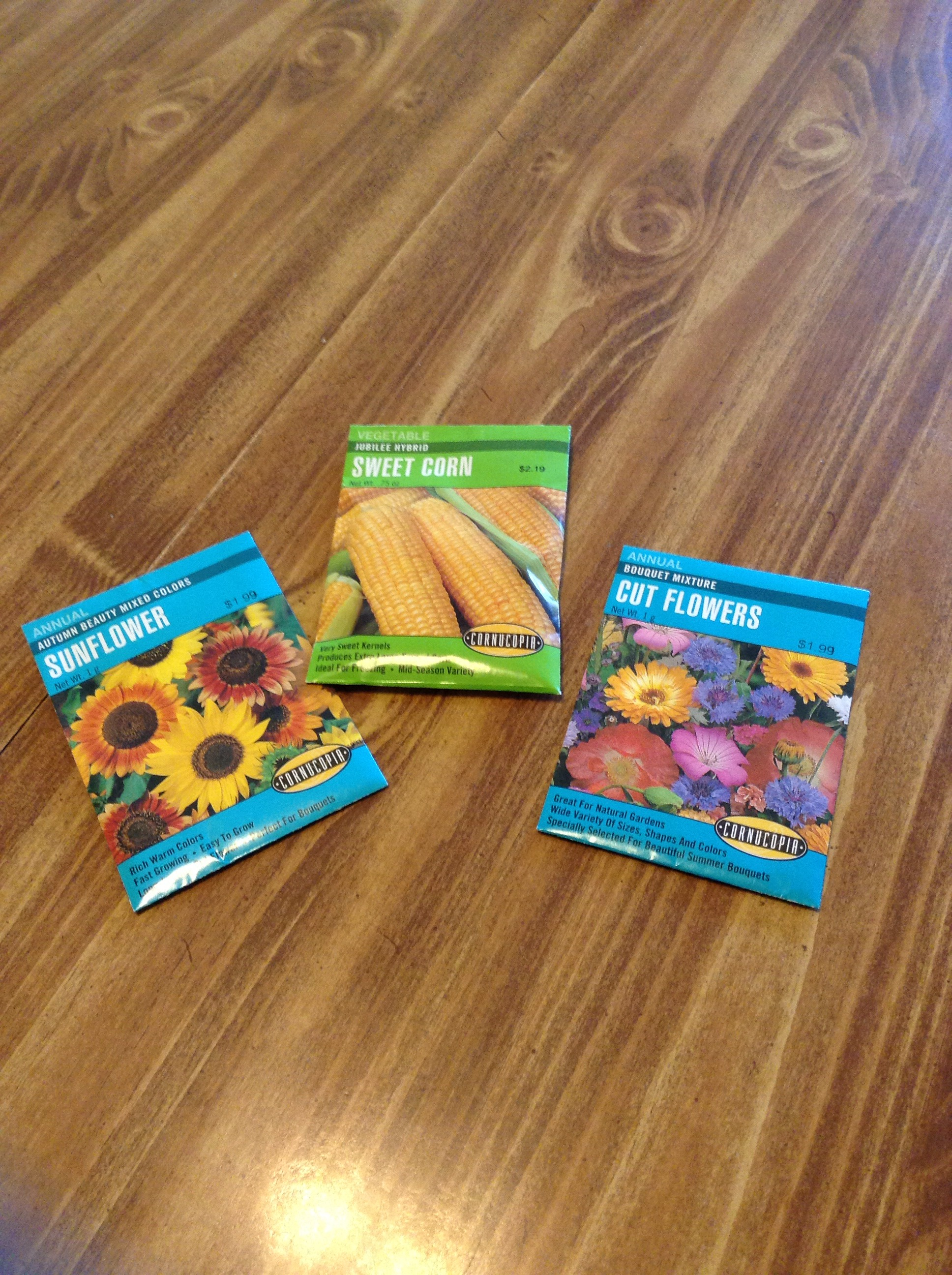 Picture of Seeds, Dirt, and Mulch