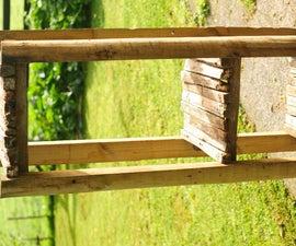 Basic Fence Post Shelfs