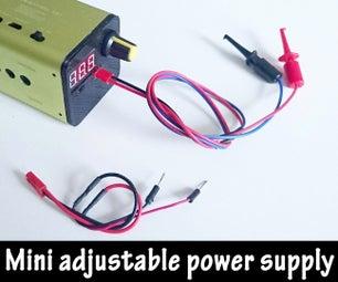 Portable Adjustable Mini Powersupply