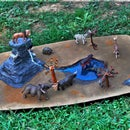 African Savannah Diorama
