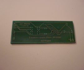 Making PCB's with an easy UV-methode