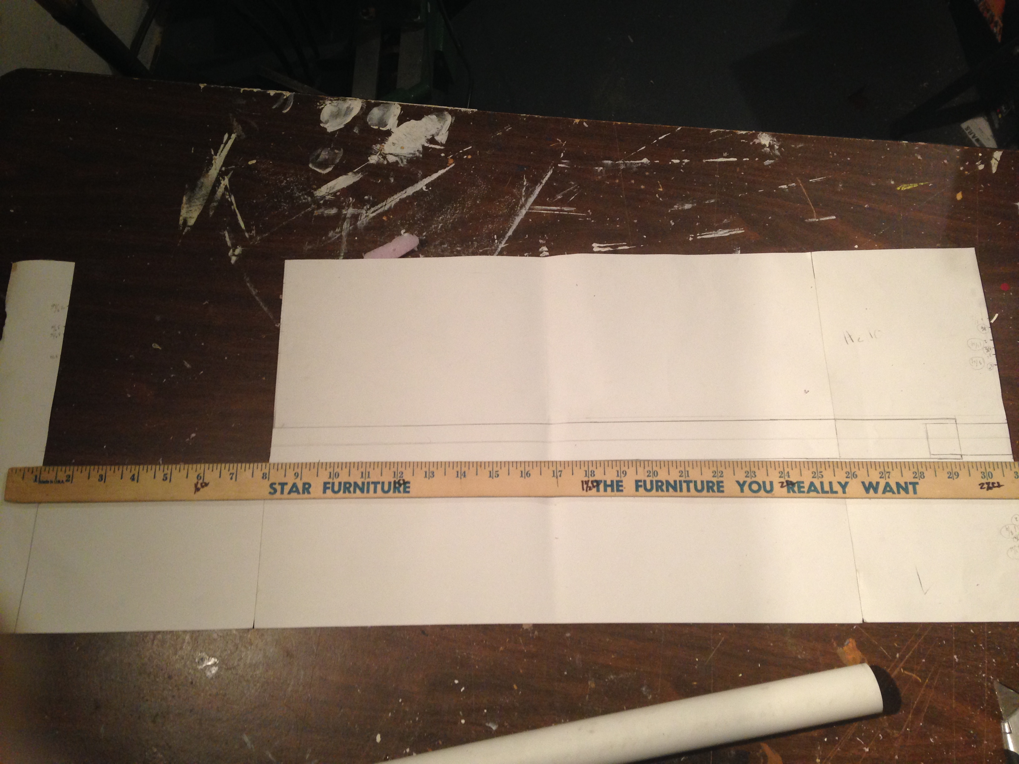 Picture of Cutting the PVC to Length