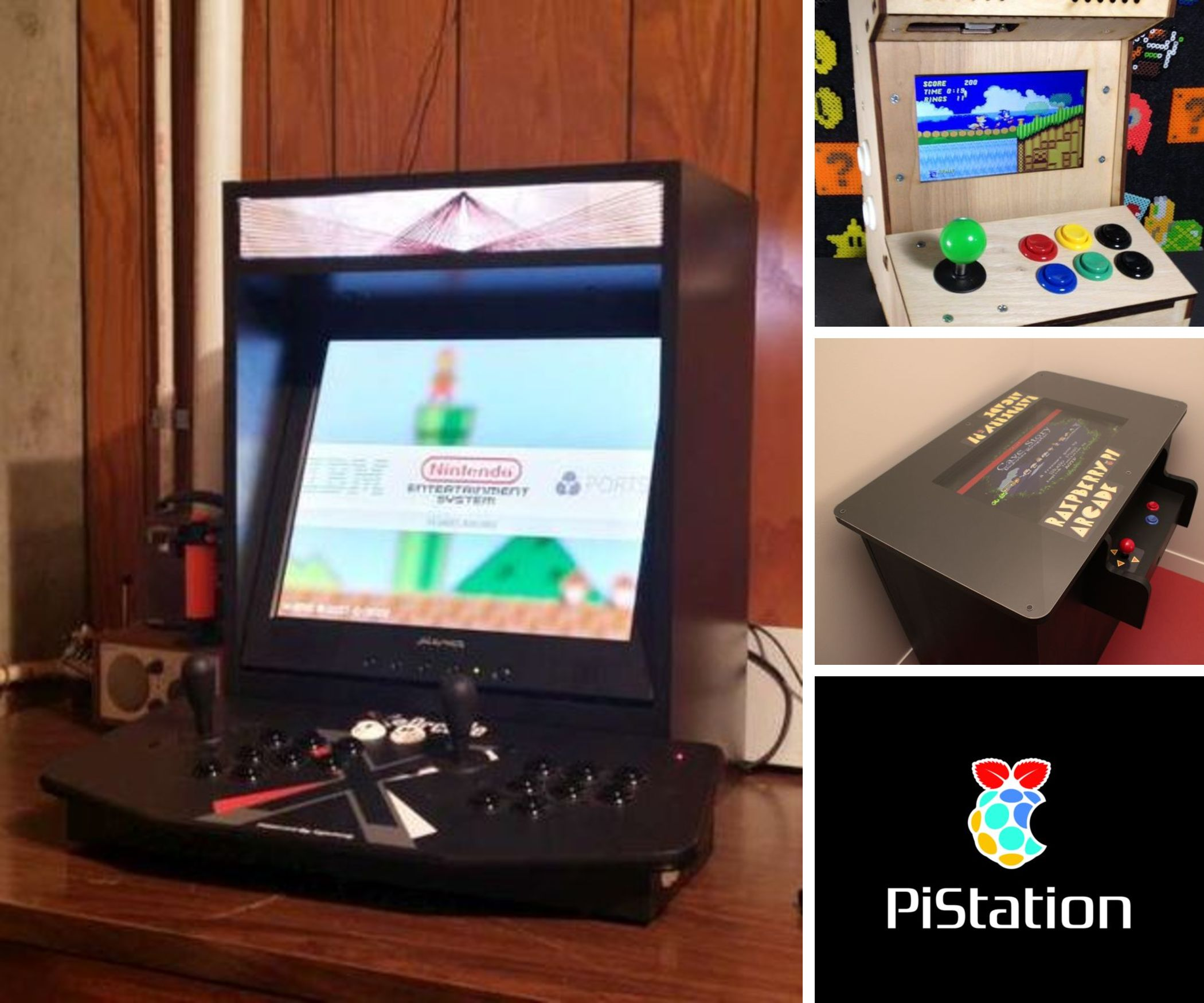 Raspberry Pi Game Cabinet Raspberry Pi Gaming Collection