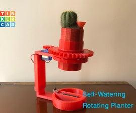 Rotating Planter (Self-Watering)