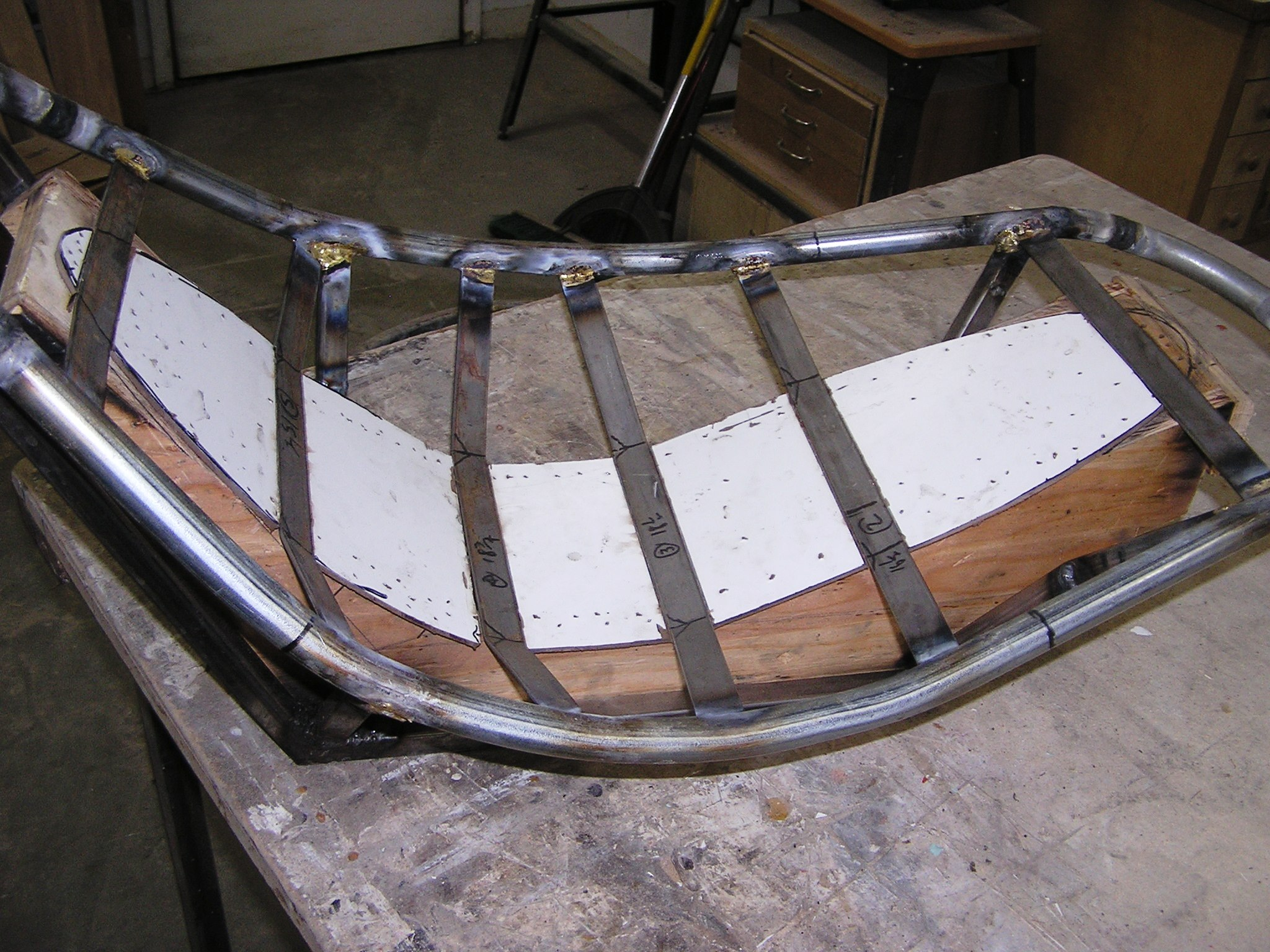 Picture of Building the Seat Skeleton