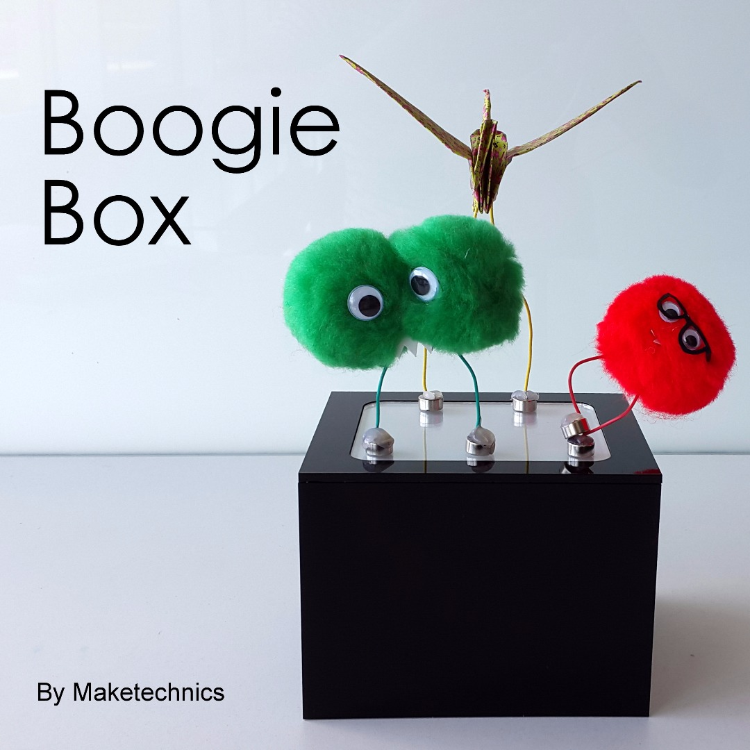 Picture of BOOGIE BOX: the Electromagnetic Dance Floor