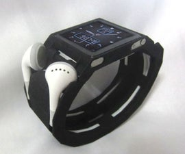 3d printed 6th gen nano watch band w/ earphone organizer and bottle opener Ultimate iwatch