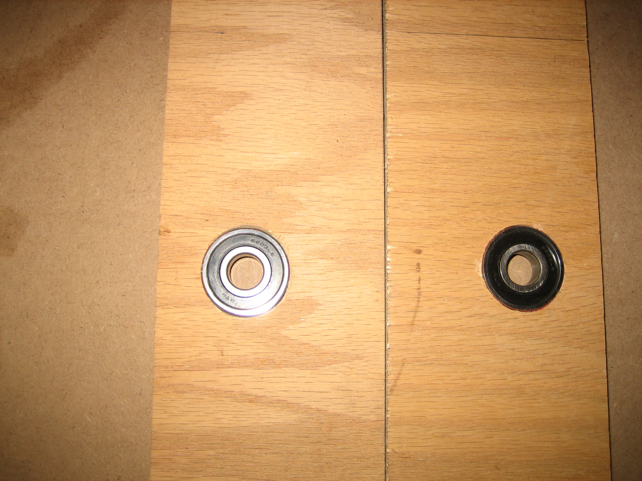 Picture of The Bearing Supports & Axle Shafts