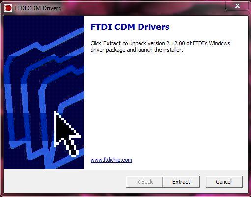 Picture of FTDI CDM Driver