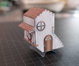 Literal Birdhouse Mini-Papercraft