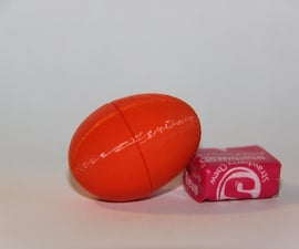 3D Printed Easter Egg