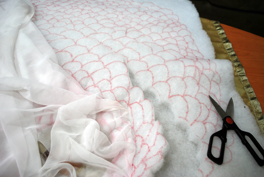 Picture of Breaking the Quilting Down