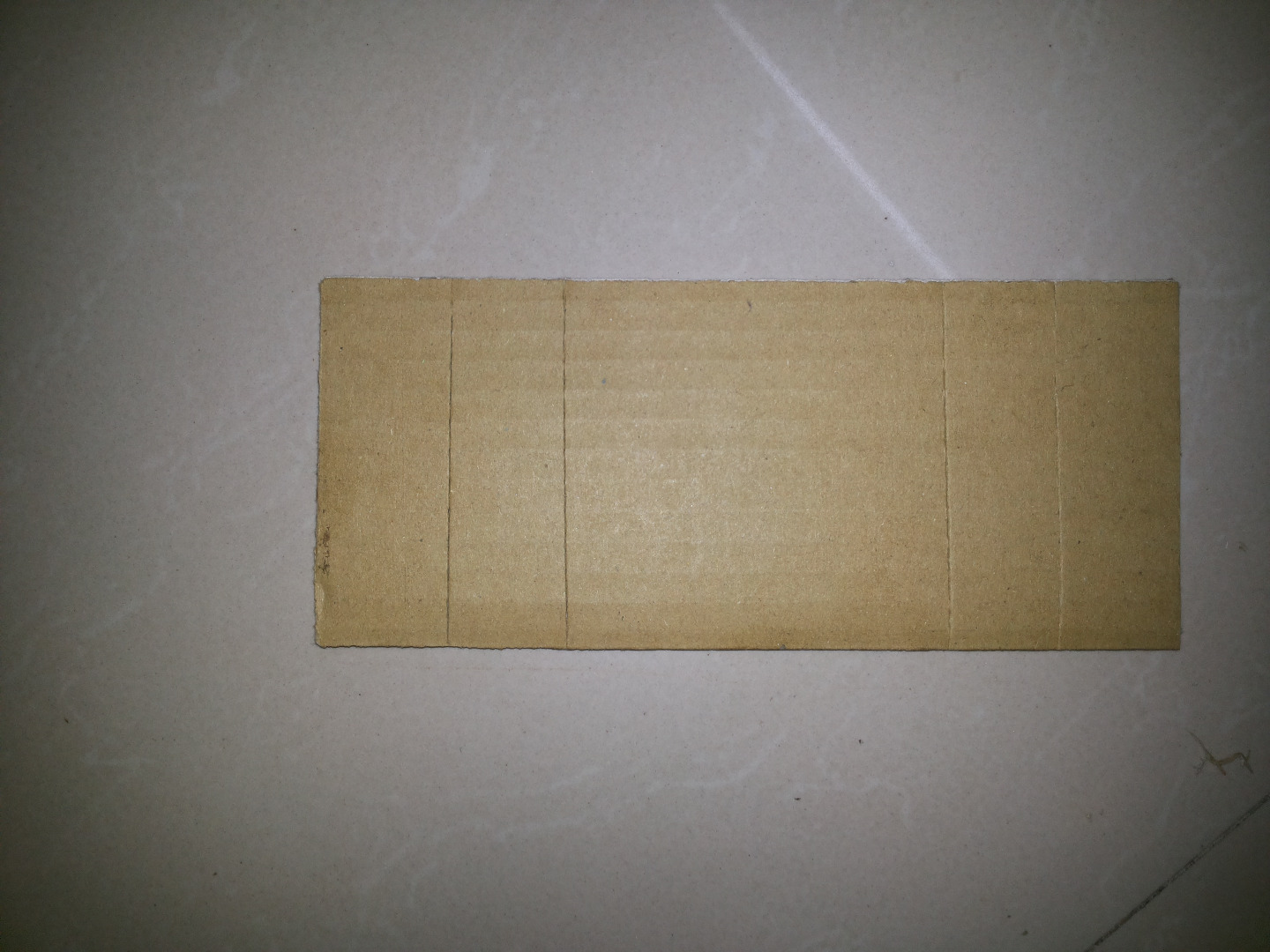Picture of Cut a Cardboard Plate As Mentioned in the Layout