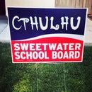 Cthulhu Political Sign