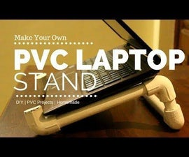 How to Make PVC LAPTOP STAND