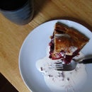 Blackberry Rosemary Apple Pie