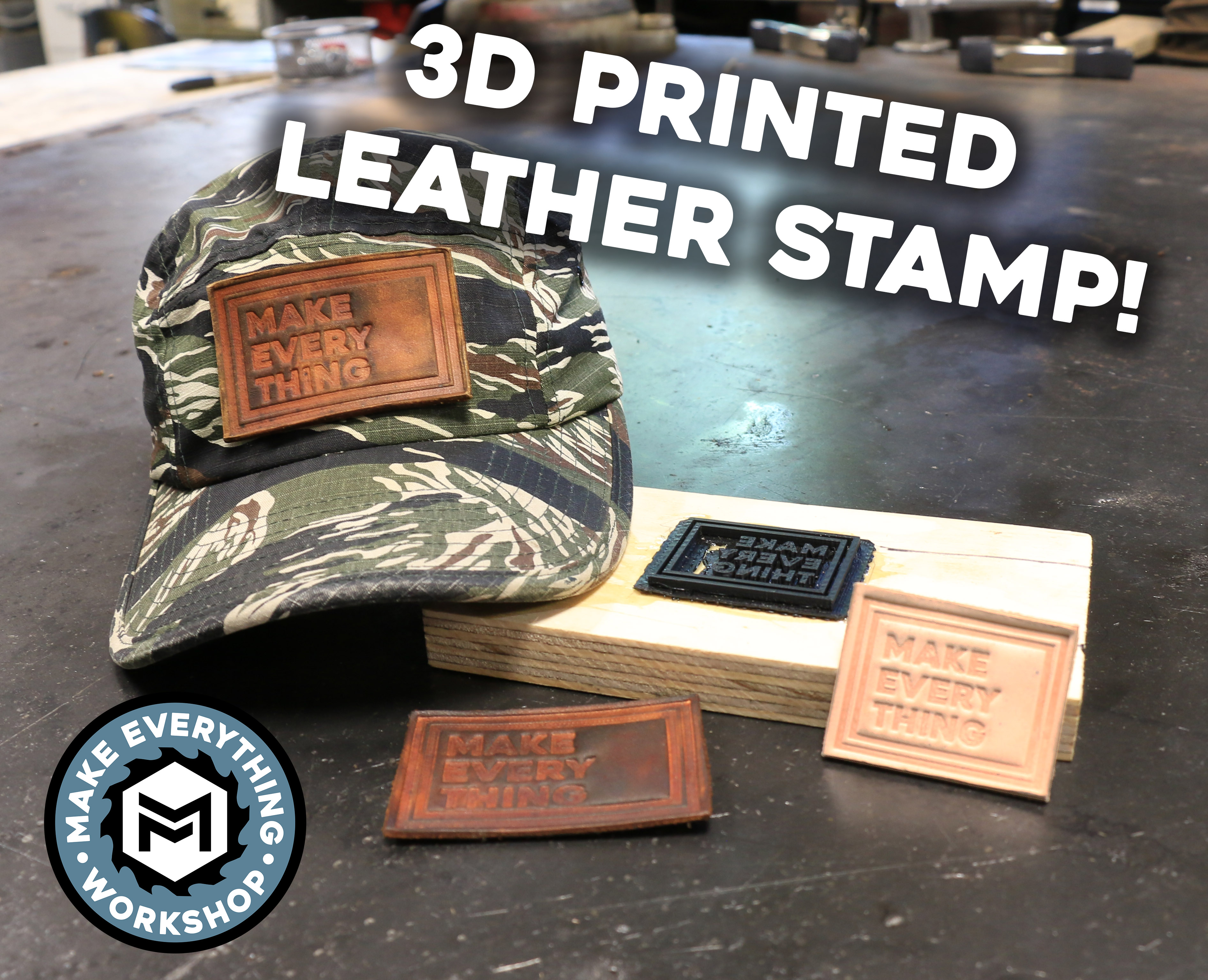 Picture of Leather Embossing With a 3D Printer!