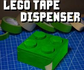 Lego Brick Tape Dispenser