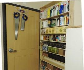 Hideaway Storage Shelves