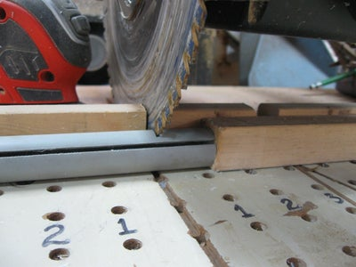 Cutting the Risers to Length