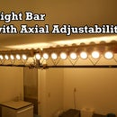 Light Bar with Axial Adjustability