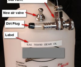 Pressure tank oil filler bmw transmission differential