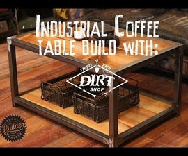 How To Make A Reclaimed Industrial Coffee Table
